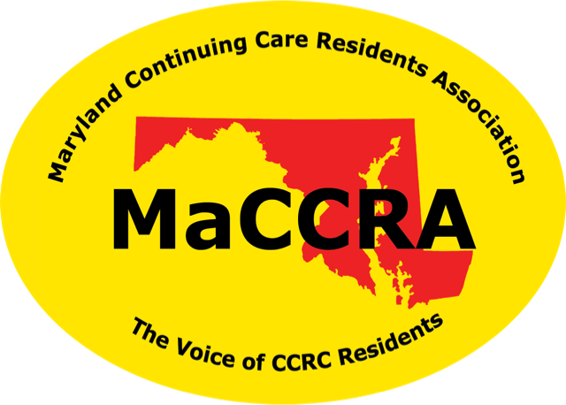MaCCRA - Maryland Continuing Care Residents Association